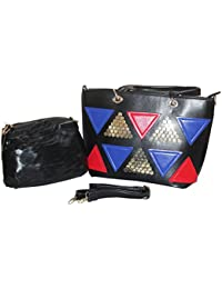 Generic Latest Trend Black Color Party Wear Handbag & Sling Bag For Girls And Women's