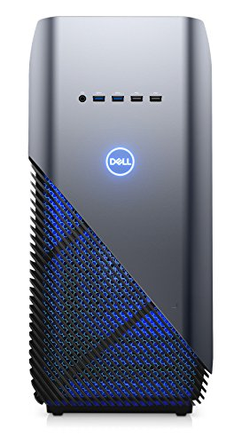 Dell Inspiron 5000 Gaming Desktop - (Recon Blue) Intel Core i7-8700, 8 GB RAM, 128 GB SSD Plus 1 TB, NVIDIA GeForce GTX 1060 3 GB Graphics Windows 10 Home Best Price and Cheapest