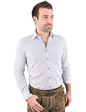 Pure Trachtenhemd Herren langarm C32607-21297 176