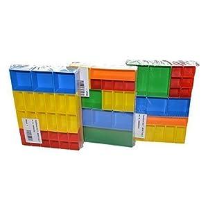 Sortimentskasten Einsätze | 3er Insetboxenset T1, T2 & T3 | Schrauben Aufbewahrung | Sortierbox Schrauben klein | Kleinteilemagazin Alternative