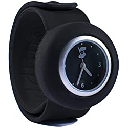 Original Slappie Baby Black Slap Watch (BBC Dragons Den Winner) Adults/Kids Size Small
