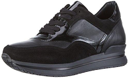 HIP D1011 Damen Sneakers Schwarz (10CO/Ac)