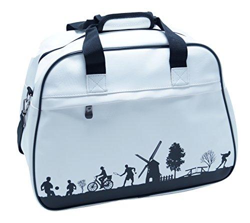 Sac vintage rétro sport actif Sac bandoulière unisexe shopper Bag Loisirs Sport Voyages FA. bowatex