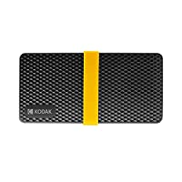 Lixada Mobile Solid State Drive,X200 Series Hd Ssd Mobile Solid State Drive Pssd Low Power Consumption Rapid Read & Write Low Noise 256Gb