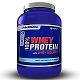 Proteine WHEY isolate 100% di proteine di lactosérum hydrolysées di alta qualita '–908g–Aumenta la crescita muscolare e le prestazioni sportive. (pesca–Ananas, 908gr)
