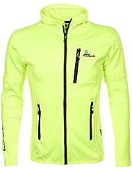 Peak Mountain - chaqueta polar shell hombre CAMPUS - amarillo - XL