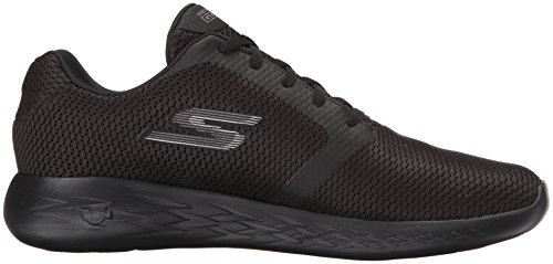 Skechers Go Run 600-Refine, Scarpe Sportive Indoor Uomo Nero (Black)