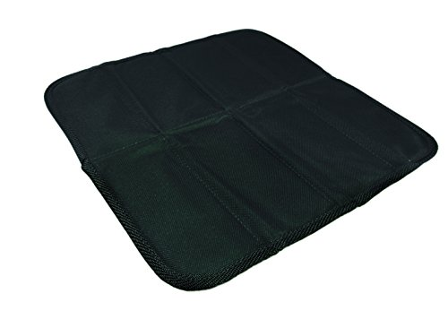 "Linotex trendige Sitzkissen ""All-Sit Fashion"" | Thermoisolierfolie | 100% Polyester | 33 x 33 cm | NY-07-02-020 (Schwarz)"