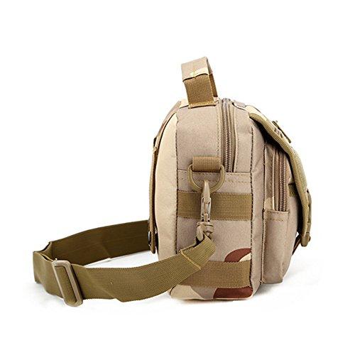 e-jiaen Taille Tasche Handtasche Schulter Tasche für Radfahren Wandern Camping und Verwandte Outdoor Sports oder Werkzeuge Zubehör C1