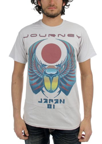 Journey -  T-shirt - Uomo argento Medium