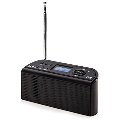 akai-a61016-dab-digital-radio-with-lcd-display-and-built-in-alarm-clock-functions-black