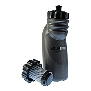 Aquapure Traveller Water Purification Bottle & Filter-Supplied in Assorted Colours