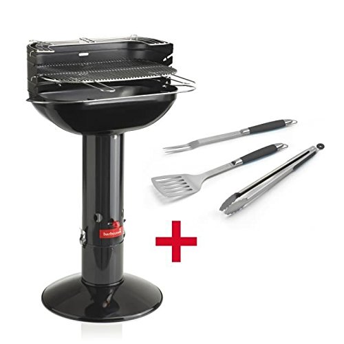 barbecook 2235510009 Arena Black und Black Pepper Set