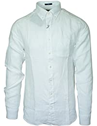 Gant - Chemise Gant en lin blanche