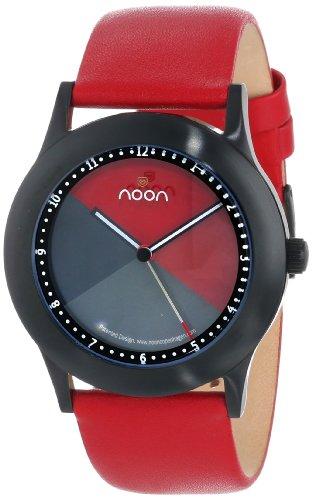noon copenhagen Unisex- Armbanduhr Design rot 17016