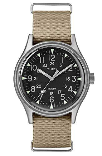 Timex Herren Analog Quarz Uhr mit Nylon Armband TW2T10300
