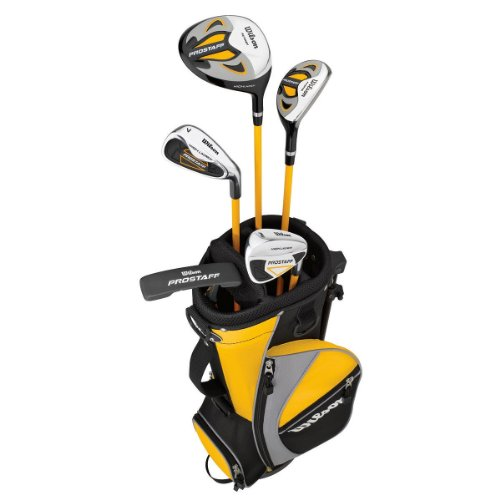 Wilson Golf WGGC91730 Clubs commerciaux Noir/Jaune