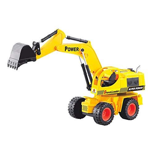 myonly Kleinkind Kinder Jungen Mädchen Spielzeugauto Super Schwere Bagger Fernbedienung Spielzeugauto Spielzeug Engineering Fahrzeug 5 Kanal