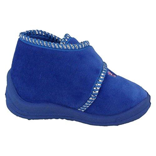 Spot On , Chaussons pour fille Bleu - Royal Blue