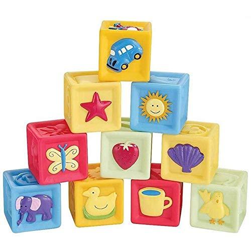 Yangmg 10 unids / Set Bloques for bebés Juguetes