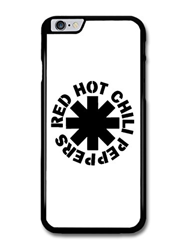 Logo-rockband (Red Hot Chili Peppers Rock Band RHCP Black Logo hülle für iPhone 6 Plus 6S Plus)