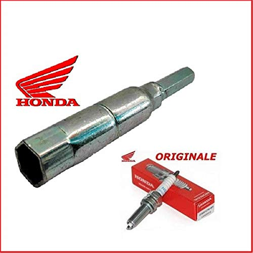 Chiave candela accensione originale Honda SH 300 2008 + NGK LMAR8A-9