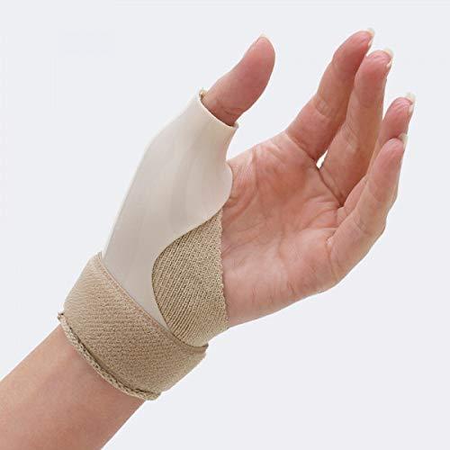 TIELLE CAMP - Pollix: tutore per l'immobilizzazione dell'articolazione trapezio-metacarpale in polietilene - Small, Destra