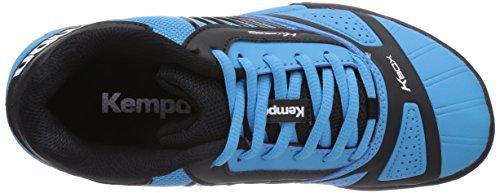Kempa - Black & Sky Tornado Zapatos De Balonmano, Unisex - Adulto Multicolor (mehrfarbig (cielo Oscuro / Schwarz))