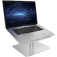 """Support Ordinateurs Portable, Lamicall Support Réglable : Universel Support Dock pour Apple MacBook, MacBook Air, MacBook Pro, Dell XPS, HP, Samsung, Lenovo and et autres Ordinateurs Portables 10""""~17"""" - Argenté"""