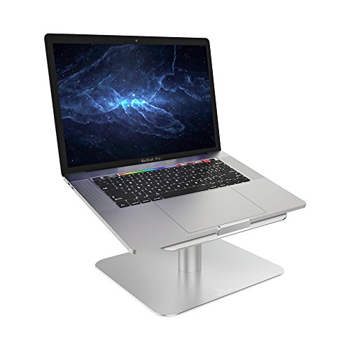 "Soporte para Portátil, Lamicall Multiángulo Soporte : Soporte Base Ajustable para Portátil como Apple 2018 Mac Book, MacBook Air, MacBook Pro, Dell XPS, HP, Samsung, Lenovo y más 10""~17"" Otras Ordenadors - Plata"