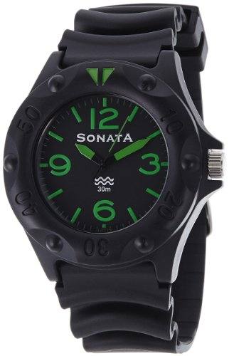 41Z2DQTy uL - Sonata ND7975PP03 Super Fibre Mens watch