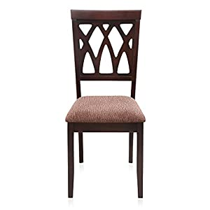 @home by Nilkamal Peak Dining Chair (Brown)