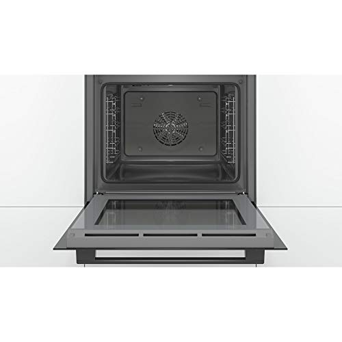 41Z2DT7sAqL. SS500  - Bosch HBS534BB0B Serie 4 Multifunction Electric Built-in Single Oven - Black