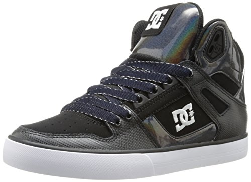 DC Shoes Spartan High Wc, Damen Sneaker  Grau Gris (Gr3) 39 (Skate Dc Schuhe Damen High)