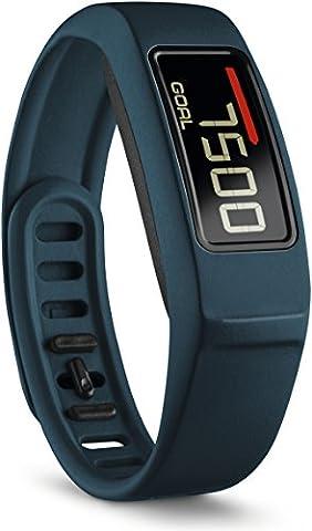 Garmin Vivofit 2 - Bracelet d'Activité Connecté avec Écran - 1 an d'Autonomie - Bleu