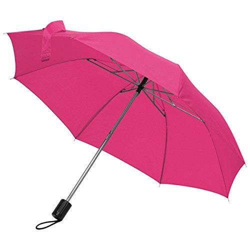 Taschenschirm Regenschirm - Farbe rosa/pink - Durchmesser ca. 81 cm