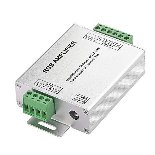 Power-repeater (In stock1pc 4A Verstärker Repeater für Signal-LED 5050 3528 RGB streifen Licht Power Repeater Konsole Controller weltweit)