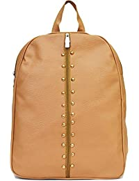 59f56bdd14 Typify Studded Casual Purse Fashion School Leather Backpack Shoulder Bag  Mini Backpack for Women   Girls
