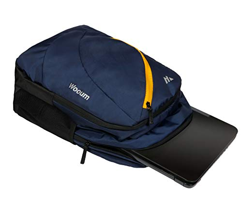 Wooum Navy Blue Light Weight 15.6 inch Casual Laptop Backpack 34 ltrs Bag Image 3
