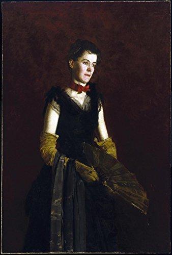 Das Museum Outlet-Thomas Eakins-Letitia Wilson Jordan-Leinwanddruck Online kaufen (61x 81,3cm)