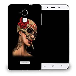 Snoogg Girl Smoking Designer Protective Back Case Cover For COOLPAD NOTE 3