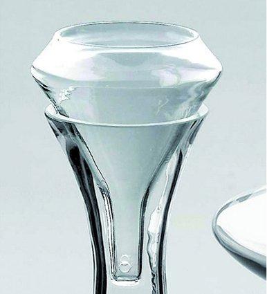 Belüfter mit Wein Glas–Deru