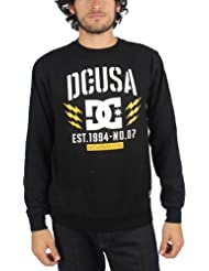 DC - - Junge Männer Rd Bolts Crew Sweater, Medium, Black