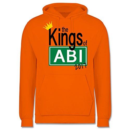 Abi & Abschluss - The Kings of Abi 2017 - Männer Premium Kapuzenpullover / Hoodie Orange