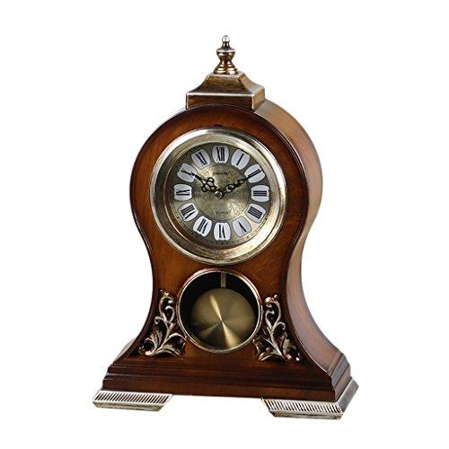 SESO UK- Retro Mantel/Mantel Rhythmus Quarz Uhr Wohnzimmer Schreibtisch Regal Uhren Dekoration