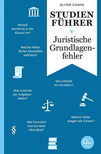 Studienführer Juristische Grundlagenfehler