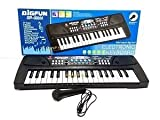 #5: GANESH 37 Key Piano Bigfun Keyboard Toy with Recording and Mic & Mobile Charger Power Option