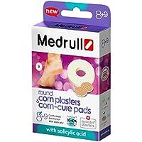 """Medrull Hühneraugen Runde Pflaster und Pad Set""""Corn Cure Pads"""" 8+9 Stück preisvergleich bei billige-tabletten.eu"""