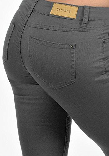 DESIRES Lala - jeans da Donna Dark Grey (2890)