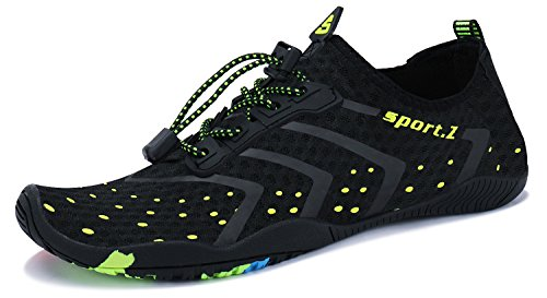 983455e64525 MAYZERO Water Sports Shoes Mens Womens Quick Dry Beach Swim Barefoot Aqua  Shoes for Beach Pool